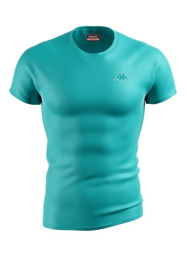 Kappa Poly.T-Shirt Baltel  Turkuaz